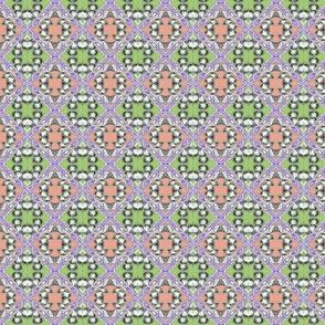 Itty Bitty Diagonal Box Checkerboard