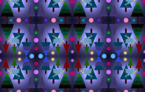 Winter Dream fabric by painter13 on Spoonflower - custom fabric