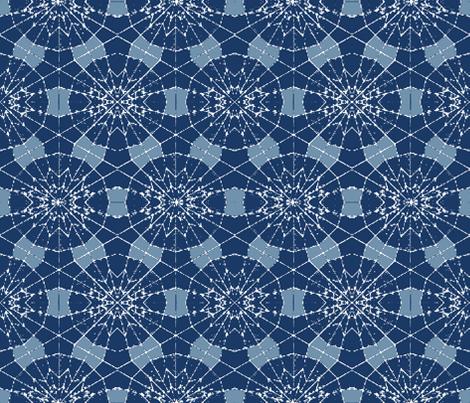 Flor Azul fabric by studiokym on Spoonflower - custom fabric