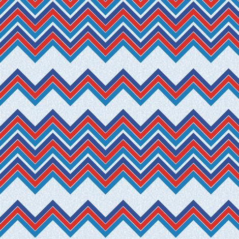 Nautilus_chevron fabric by kirpa on Spoonflower - custom fabric