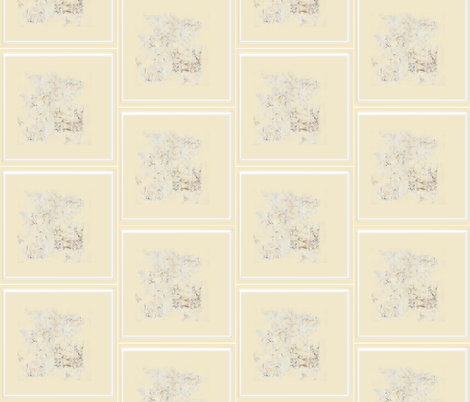 Faded Tiles fabric by karendel on Spoonflower - custom fabric