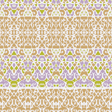 East Indian Shapes fabric by robin_rice on Spoonflower - custom fabric