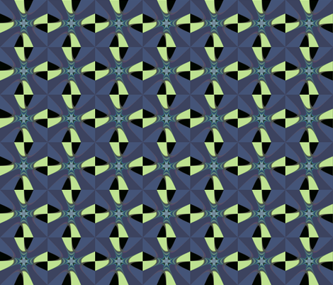 Arrows gone Fractal fabric by anniedeb on Spoonflower - custom fabric