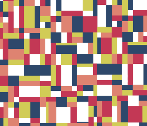 MatisseMap fabric by projectm on Spoonflower - custom fabric