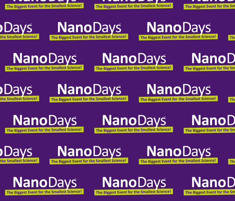 NanoDays logo fabric by nise_network on Spoonflower - custom fabric