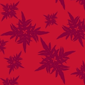 Snowflake Hawaiian Red Lauae fern