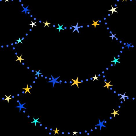 Starry Night  fabric by painter13 on Spoonflower - custom fabric
