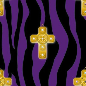 Fabric_Baroque_Cross_purple