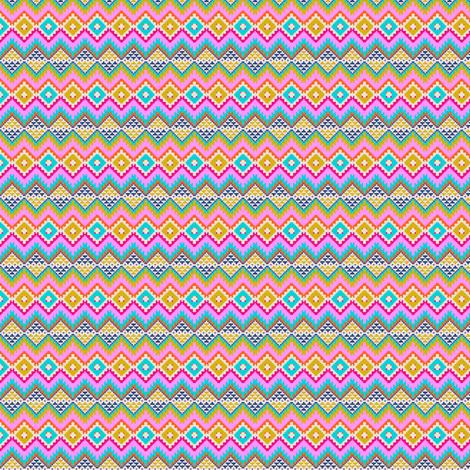 Tribal Jacquard fabric by candyjoyce on Spoonflower - custom fabric