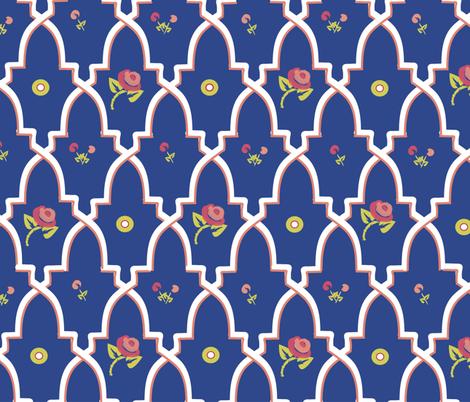 Provencal Boheme fabric by melachmulik on Spoonflower - custom fabric