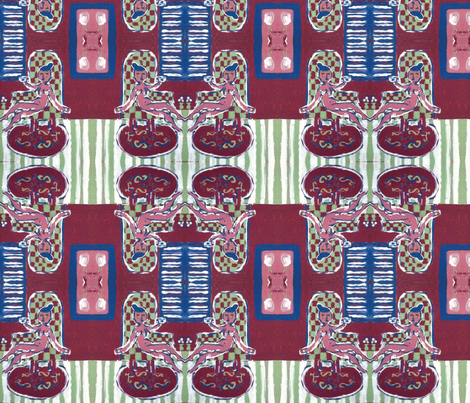 matisseinspired fabric by pearlearring on Spoonflower - custom fabric
