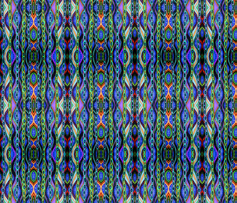 Altered Doodle fabric by linsart on Spoonflower - custom fabric