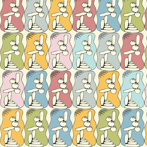 Stones fabric by ivoryshades on Spoonflower - custom fabric