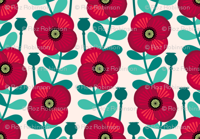 Poppy stem - pale wheat