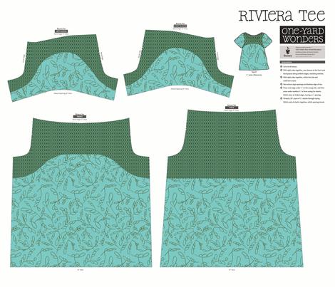 Kelp and Netting T-shirt fabric by mongiesama on Spoonflower - custom fabric
