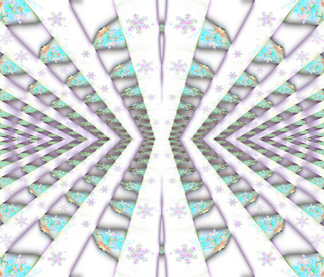 Snowy Sky fabric by anniedeb on Spoonflower - custom fabric