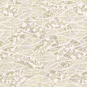 Soft Fern - creamy pale pink lace, gray moss, lavender. Weddings.