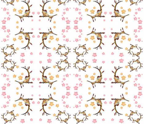 sea_dragon_fabric fabric by tat1 on Spoonflower - custom fabric