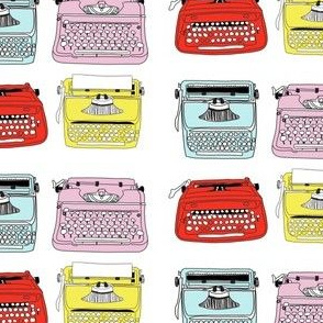 Typewriters Mixed Small