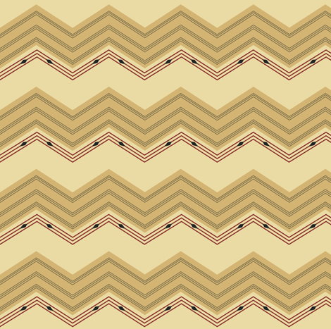 chevron fabric by kirpa on Spoonflower - custom fabric