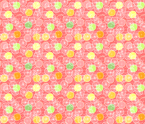 FRESH_CITRUS fabric by glimmericks on Spoonflower - custom fabric