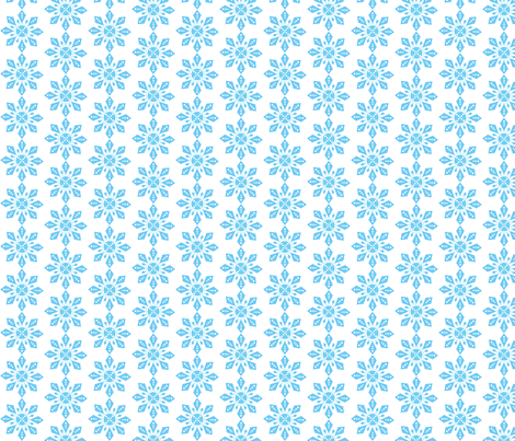 snowflake-star fabric by terriaw on Spoonflower - custom fabric