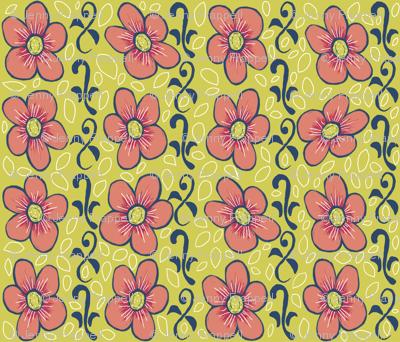 Matisse flowers and vines ©indigodaze2012