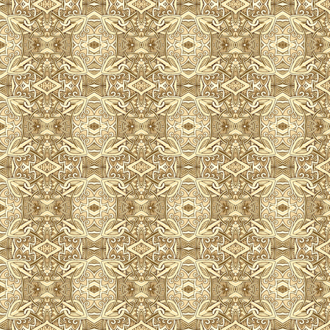 Nobody's Favorite Color is Beige fabric by edsel2084 on Spoonflower - custom fabric