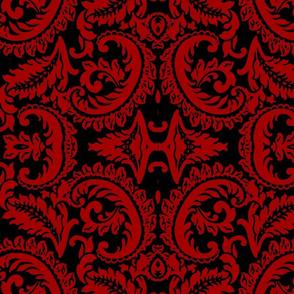 Damask Red/Blk