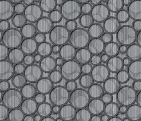 gray spots fabric by melhales on Spoonflower - custom fabric