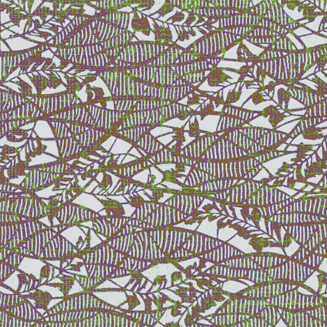 Garden Textures - free fall - lavender lace fabric by materialsgirl on Spoonflower - custom fabric
