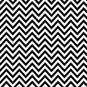 Black N White Zag