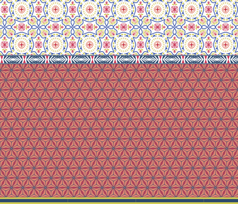 Matisse fabric by raindrop on Spoonflower - custom fabric