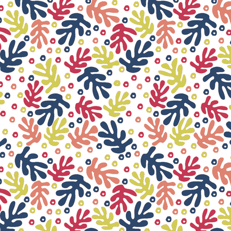 Matisse #2 fabric by susiprint on Spoonflower - custom fabric