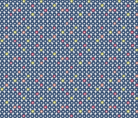 matisse dots fabric by susiprint on Spoonflower - custom fabric