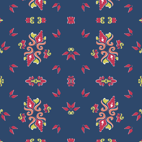 Ode To Matisse fabric by joyfulroots on Spoonflower - custom fabric