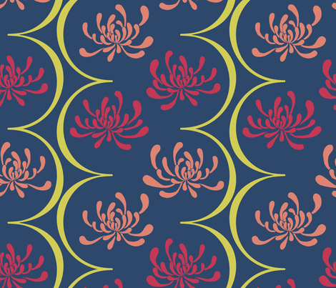 Matisse fabric by leighr on Spoonflower - custom fabric