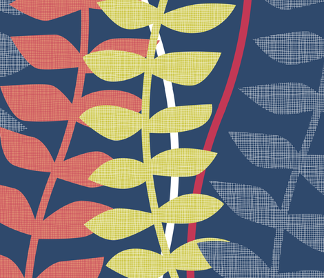 matisse inspired  fabric by ravynka on Spoonflower - custom fabric
