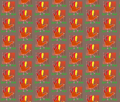 Turkey Lurkey fabric by robin_rice on Spoonflower - custom fabric