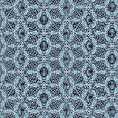 ice flowers fabric by heikou on Spoonflower - custom fabric