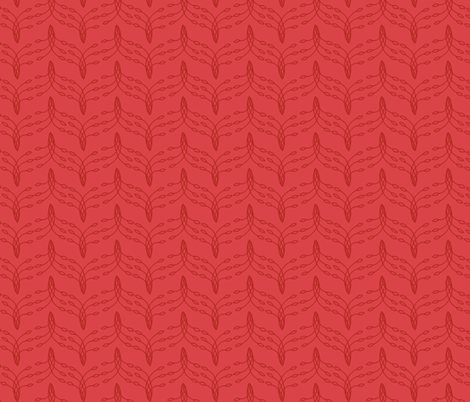 Red Tail Feathers fabric by holly_helgeson on Spoonflower - custom fabric