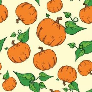 Sketchy Pumpkins