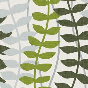 matisse inspired - greens colorway