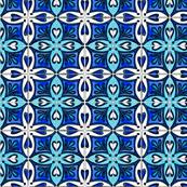 Tile Heart Blue