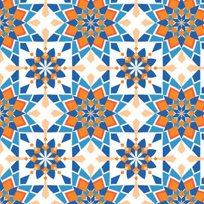 moroccan fabric wallpaper gift wrap Spoonflower