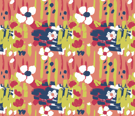 Rouxlette_Matisse3 fabric by sally_stetson_design on Spoonflower - custom fabric