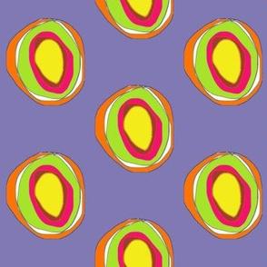 Mandala Circles – Purple Multi