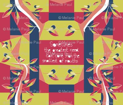 Black Robin - Matisse Inspired (restricted palette)