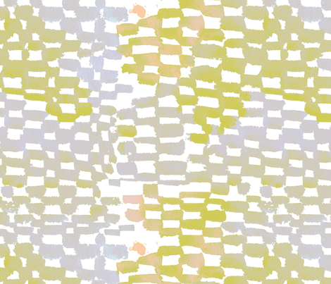 cestlaviv_giverny bricks fabric by cest_la_viv on Spoonflower - custom fabric