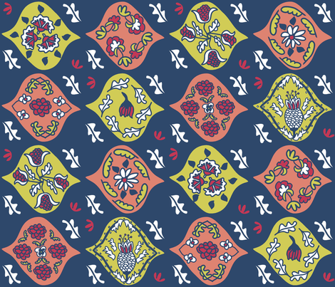 "Matisse ""Magic Carpet"" Textile (Nasher) fabric by pattyryboltdesigns on Spoonflower - custom fabric"